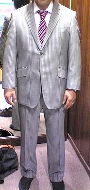 モリモト様スーツ