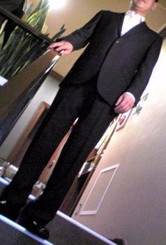 T.Nさんのモテスーツです。